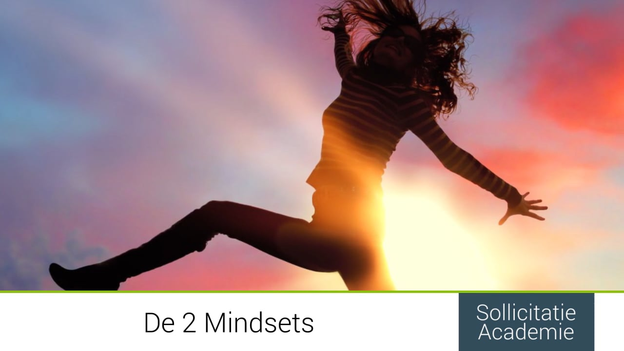 1.6:  De 2 mindsets - deel  1 van 4