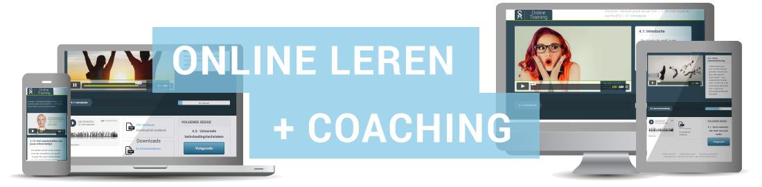 online leren met coaching
